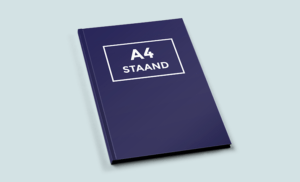 Hardcover A4 Staand