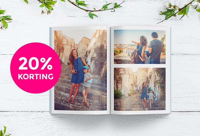 20% korting op alle softcover